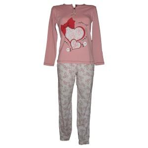 d.pijama baray 6566 rozovo f